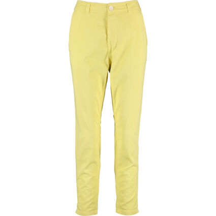 Yellow Buttoned Trousers