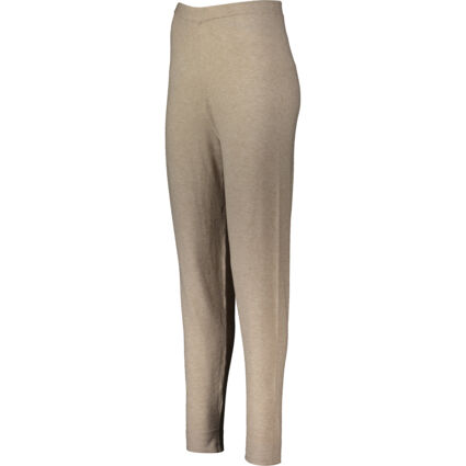Beige Knitted Joggers