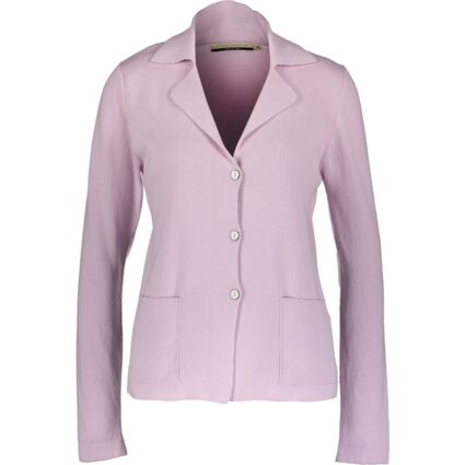 Lilac Knitted Jacket Cardigan