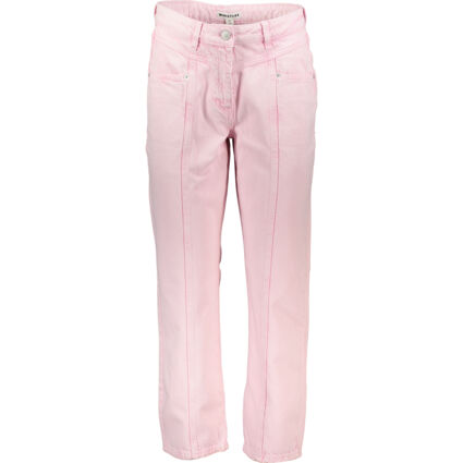 Washed Pink Straight Leg Jeans