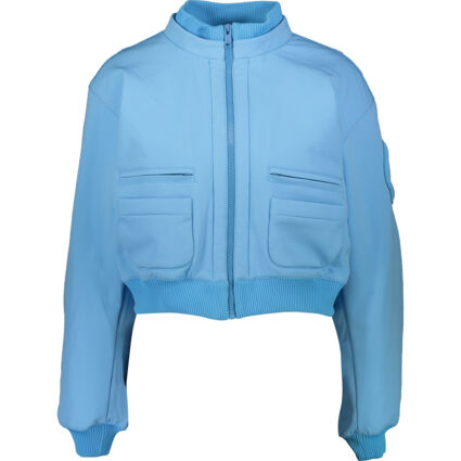 Sky Blue Quilted Lining Jacket