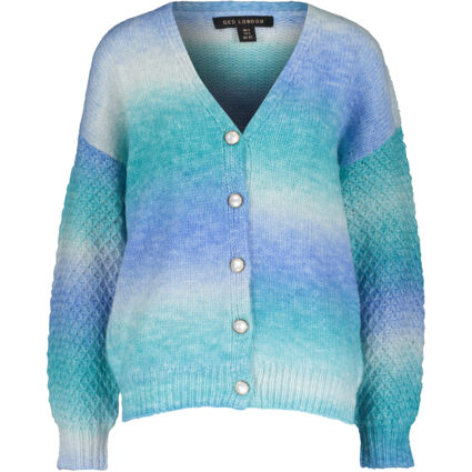 Blue Hues Knitted Cardigan