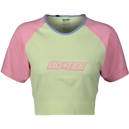 Lime Green & Pink Top