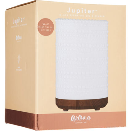Clear Glass Electric Essential Oil Diffuser