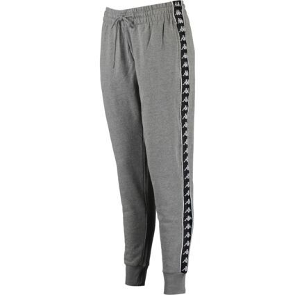 Grey Side Taped Cuffed Joggers