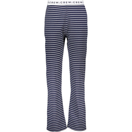 Navy Striped Lounge Pants