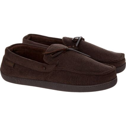 Brown Cord Slippers