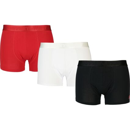 Three Pack Multicolour Solid Boxers