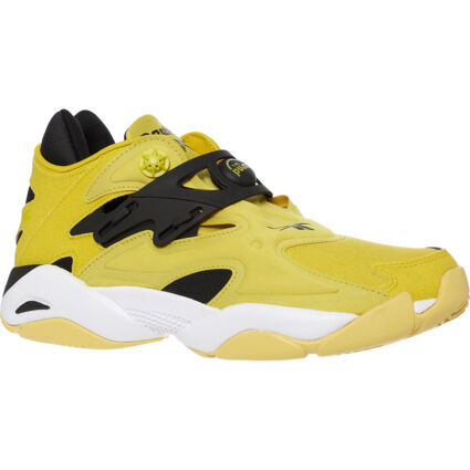 Yellow Pump Court Trainers