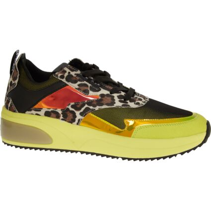 Multicolour Animal Pattern Trainers