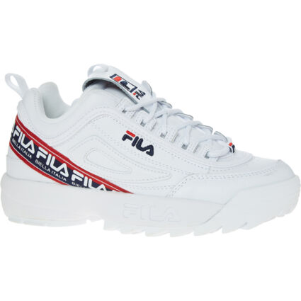 White Disruptor Trainers