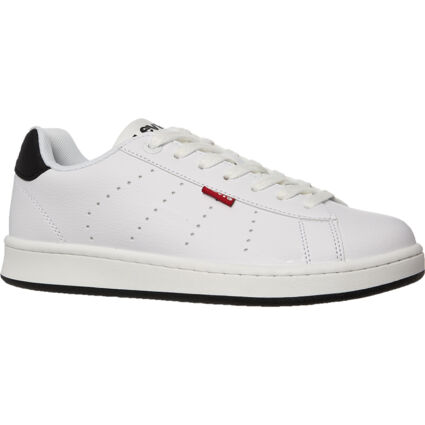 White Branded Trainers