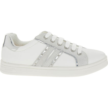 White Leather Trainers