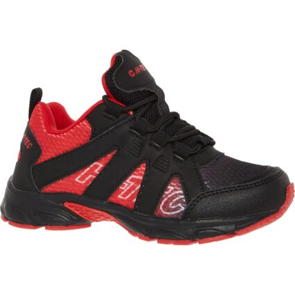 Black & Red Trainers
