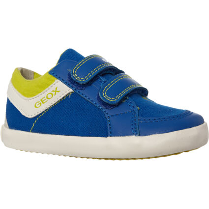 Blue & White Trainers