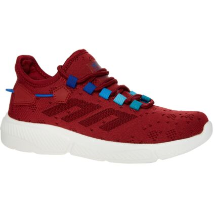 Red Knit Trainers