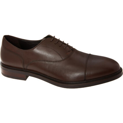 Coffee Brown Leather Shoes