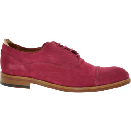 Pink Leather Laced Brogues