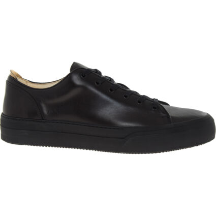 Black Leather Conscious Trainers