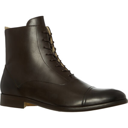 Espresso Leather Billy Boots