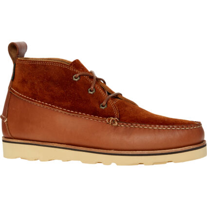 Brown Leather Camp Moc III Shoes