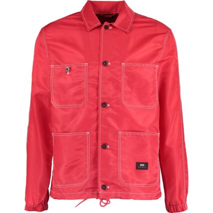 Red Soft Shell Shacket