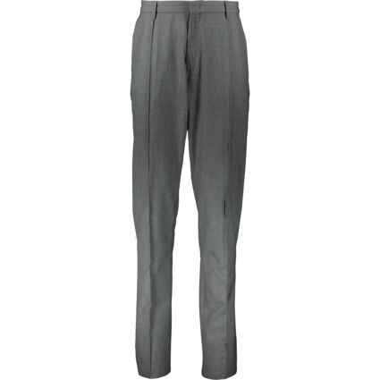 Grey Pleated Trousers