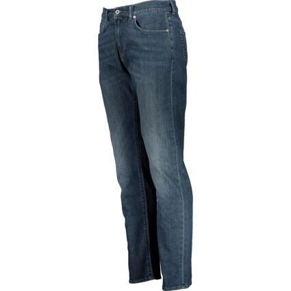 Faded Navy Slim Tapered Jeans