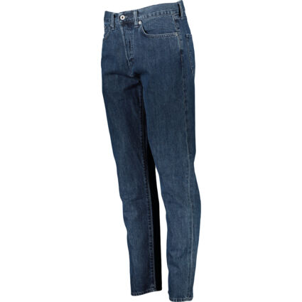 Dark Blue Loose Tapered Jeans