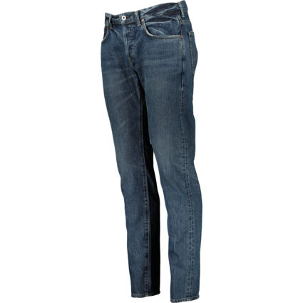 Blue Classic Tapered Jeans