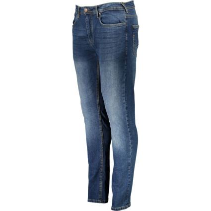 Blue Overburg Tapered Jeans