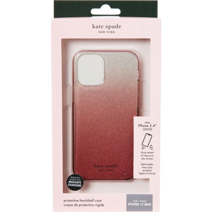 Pink Ombre Glitter Phone Case