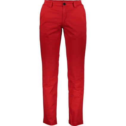 Red Slim Trousers