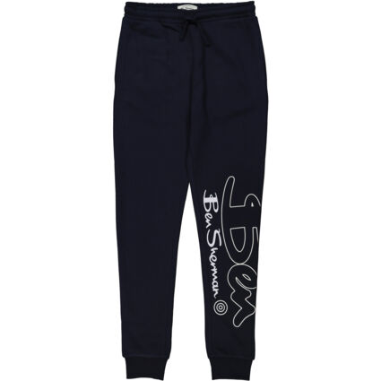 Navy Blue Branded Joggers