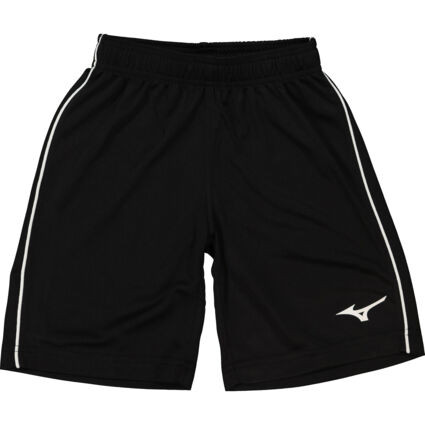 Black & White Piped Shorts