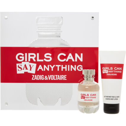 Girls Can Say Anything Gift Set