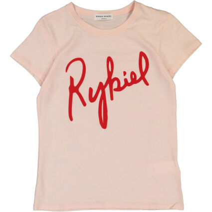 Pink & Red Branded T Shirt