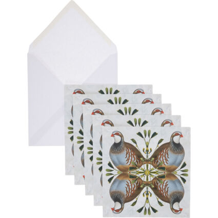 Five Pack Partridge Cards
