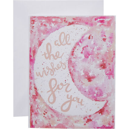 All The Wishes Greeting Card