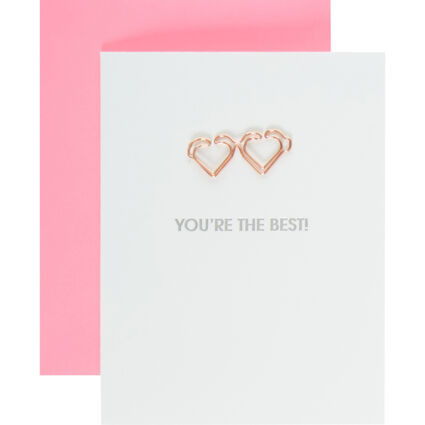 White Youre The Best Card