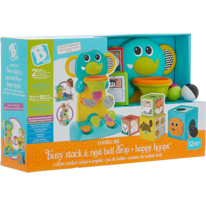Combo Set: Busy Stack, Nest Ball Drop & Happy Hoops