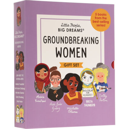Five Pack Ground Breaking Woman Book Set