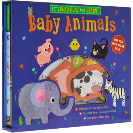 Lets Read, Play & Learn Baby Animals