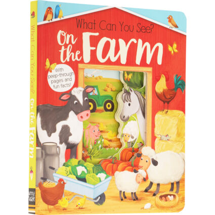 What Can Your See On The Farm Books