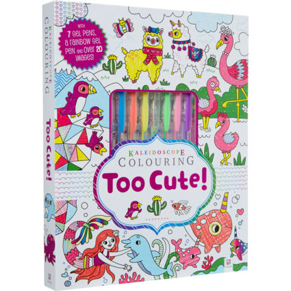 Too Cute Colouring Kit