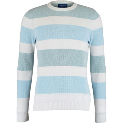 Blue & White Striped Jumpers
