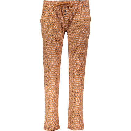 Brown Polka Dotted Lounge Trousers