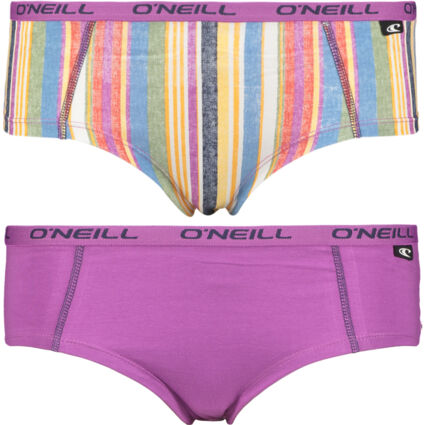 Two Pack Multicolour Striped Hipsters