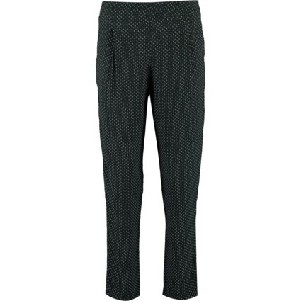Dark Green Spotted Trousers