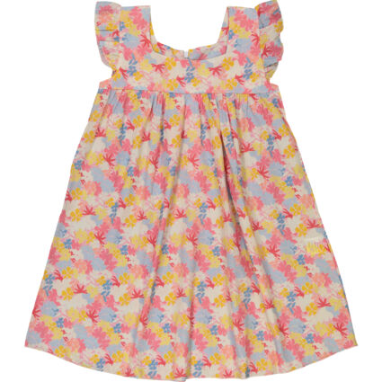 Multicoloured Floral Day Dress